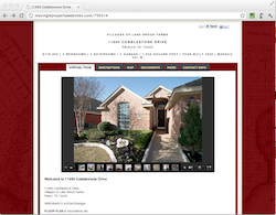 Single Property Websites Example